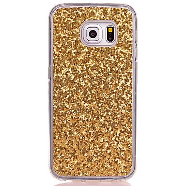 hoesje Voor Samsung Galaxy S8 Plus S8 Doorzichtig Achterkantje Glitterglans Zacht TPU voor S8 S8 Plus S7 edge S7 S6 edge S6 S5 Mini S5 S4