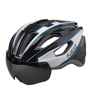 Unisex Fahhrad Helm 17 Öffnungen Radsport Bergradfahren Straßenradfahren Freizeit-Radfahren Radsport L: 59-63 cm 1680D Wasserdichtes
