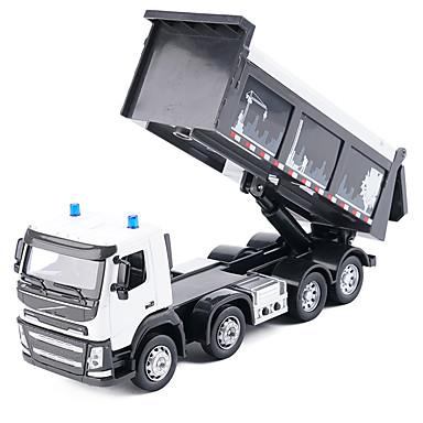 Spielzeug-Autos Lastwagen Baustellenfahrzeuge Spielzeuge Musik & Licht LKW Spielzeuge Metalllegierung Metal Stücke Unisex Geschenk