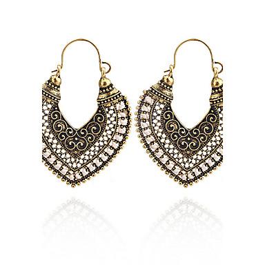 Dames Druppel oorbellen Sieraden Hart Meetkundig Modieus Vintage Bohemia Style Euramerican Eenvoudige Stijl Brits Elegant Hartvorm