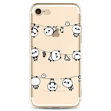 Pentru Apple iPhone 7 7 plus 6s 6 plus caz acoperă panda model pictat de înaltă penetrare tpu material caz caz caz moale