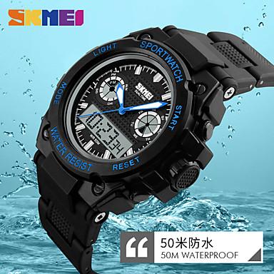 Heren Digitaal Digitaal horloge Polshorloge Smart horloge Sporthorloge Chinees Kalender Waterbestendig Grote wijzerplaat Silicone Band