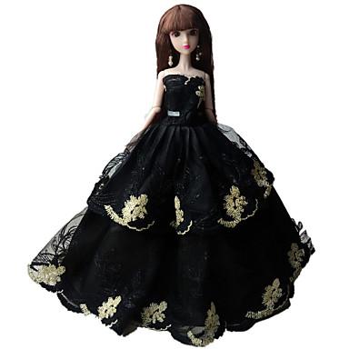 Jurken Jurk Voor Barbiepop Kleding Voor voor meisjes Speelgoedpop