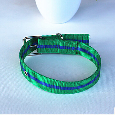 Rozătoare Lese Antrenament Câini Ajustabile / Retractabil Alergat Dungi Nailon Rosu Verde Albastru