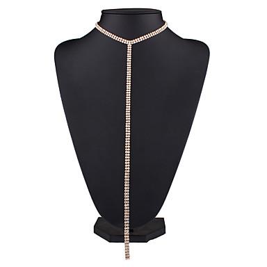 Damen Anhängerketten - Grundlegend Einzelkette Modische Halsketten Für Hochzeit Party Besondere Anlässe Geburtstag Einweihungsparty