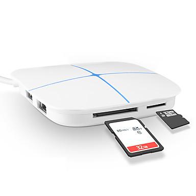 6 Ports USB-Hub USB 2.0 Mit Kartenleser (n) Daten-Hub