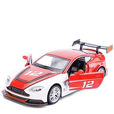 Speelgoedauto's SUV Speeltjes Terugtrekvoertuigen Muziek en licht Automatisch Metaal Stuks Unisex Geschenk