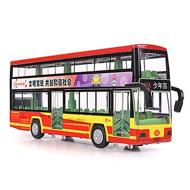 لعبة سيارات ألعاب حافلة ألعاب حافلة سبيكة معدنية قطع للجنسين هدية