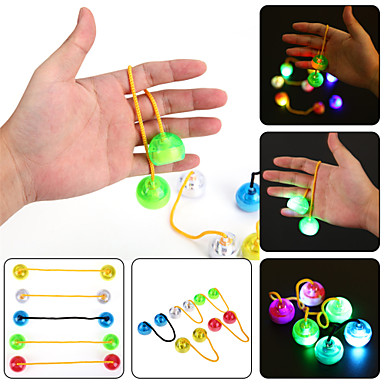 ywxlight® führte nachtlicht leuchtende finger yo yo hand finger spinner schreibtisch kinder kind für rotation zeit lange anti stress