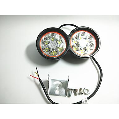 Externe koplampen van de motorverlichting verlichten externe waterdichte lichten