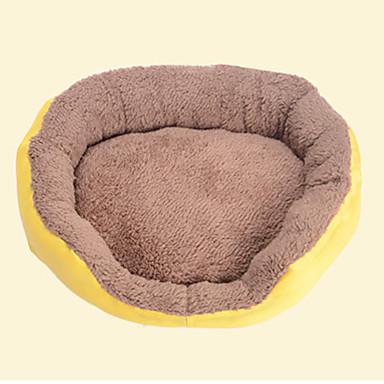 قط كلب الأسرّة حيوانات أليفة الحصير والوسادات سادة المحمول متنفس برتقالي أصفر أزرق زهري
