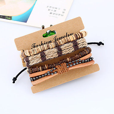Heren / Dames Lederen armbanden - Leder Modieus Armbanden Regenboog Voor Bruiloft / Feest / Sport