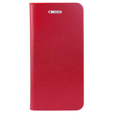 Für Apfel iphone 6s plus 6 plus Fallabdeckung Kartenhalter Flip volles Körperkasten Normallack hartes PU-Leder 6s 6