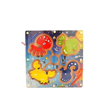 ألعاب الطاولة المتاهات المغناطيسية ألعاب مغناطيس PVC قطع للأطفال هدية