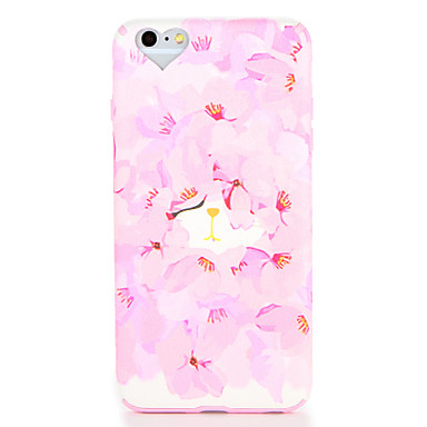Maska Pentru Apple iPhone 7 Plus iPhone 7 Model Capac Spate Floare Moale TPU pentru iPhone 7 Plus iPhone 7 iPhone 6s Plus iPhone 6s