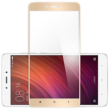حامي الشاشة XIAOMI إلى Xiaomi Redmi Note 4X زجاج مقسي 1 قطعة حامي كامل للجسم مقاومة الحك (HD) دقة عالية