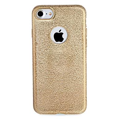 hoesje Voor Apple iPhone 7 / iPhone 7 Plus Beplating Achterkant Effen Zacht TPU voor iPhone 7 Plus / iPhone 7 / iPhone 6s Plus