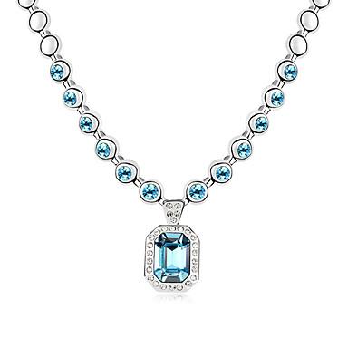 Dames Kettingen Sieraden Sieraden Kristal Legering Modieus Euramerican Sieraden Voor Bruiloft Feest