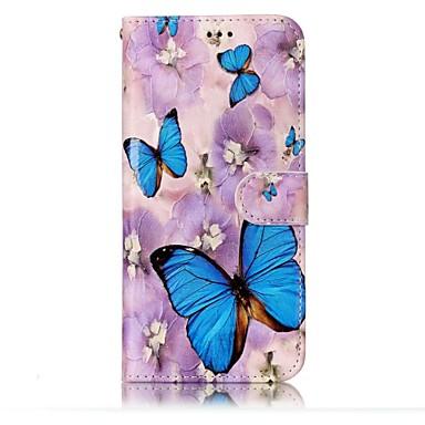 Hülle Für Samsung Galaxy S8 Plus S8 Geldbeutel Kreditkartenfächer mit Halterung Flipbare Hülle Geprägt Muster Magnetisch Handyhülle für