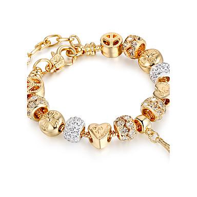 Pentru femei Bratari Strand - Placat Auriu Prieteni Lux, Elastică, Modă Brățări Auriu Pentru Crăciun / Cadouri de Crăciun / Nuntă