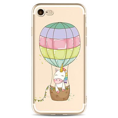 Für Apfel iphone 7 7 plus 6s 6 plus Fallabdeckung Karikaturmuster gemaltes hohes penetration tpu Material weicher Falltelefonkasten