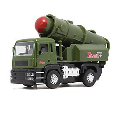 Legervoertuig Tank Speelgoedtrucks & Constructievoertuigen Speelgoedauto's Modelauto Muziek en licht Metaallegering Unisex Kinderen