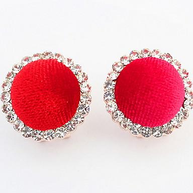 Heren Dames Oorknopjes Ring oorbellen Synthetische Diamant Basisontwerp Meetkundig Sexy Modieus Vintage PERSGepersonaliseerd leuke Style