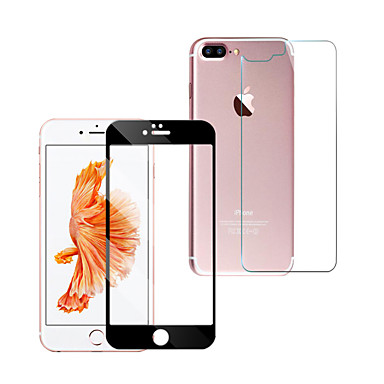 Gehard Glas Screenprotector voor Apple iPhone 6s Iphone 6 Voorkant- & achterkantbescherming High-Definition (HD) 9H-hardheid 2.5D gebogen