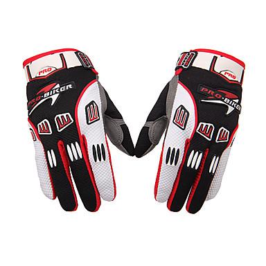 Activiteit/Sport Handschoenen Unisex Fietshandschoenen Wielrenhandschoenen Anatomisch ontwerp Draagbaar Ademend Lange Vinger Doek Fluweel