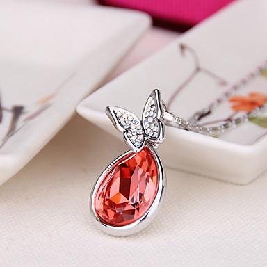 Dames Hangertjes ketting Sieraden Sieraden Kristal Legering Uniek ontwerp Modieus Euramerican Sieraden Voor Feest Anders >> Avond Feest