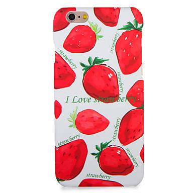 Für Apfel iphone 7 7plus Fallabdeckungsmuster rückseitige Abdeckungsfallfrucht harter PC 6s plus 6 plus 6s 6 5s 5