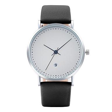 Bărbați Ceas de Mână Ceas La Modă Ceas Casual Chineză Quartz Calendar PU Bandă Casual Elegant Cool Negru Albastru Gri