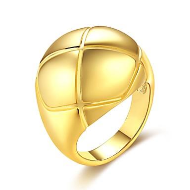 Heren Dames Ring Zirkonia Gepersonaliseerde Cirkelvormig ontwerp Meetkundig Uniek ontwerp Vintage Bohémien Standaard Natuur Cirkel