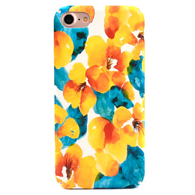 Hülle Für Apple iPhone 8 iPhone 8 Plus Muster Rückseite Blume Hart PC für iPhone 8 Plus iPhone 8 iPhone 7 Plus iPhone 7 iPhone 6s Plus
