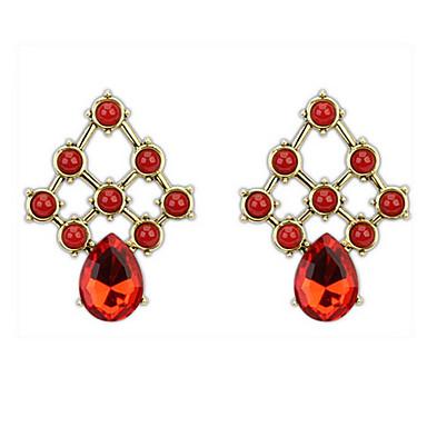 Pentru femei Cercei Stud Cercei Picătură Cercei Rotunzi  imitație de diamant Design Basic Design Unic Stil Logo Ștrasuri Prietenie Turcă
