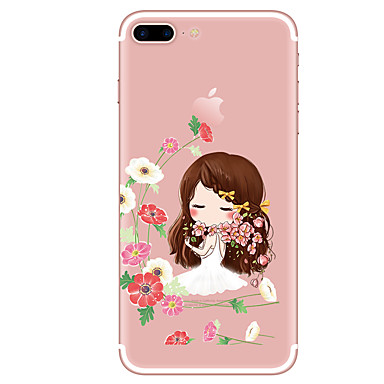 Caz pentru iphone 7 7 plus model de desene animate tpu soft back cover pentru iphone 6 plus 6s plus iphone 5 se 5s 5c 4s