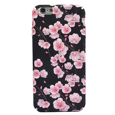 Für Apfel iphone 7 7 plus 6s 6 plus Fallabdeckungs-Blumenmusterabziehbild-Hautsorgfalt-Noten-PC-Materialtelefonkasten