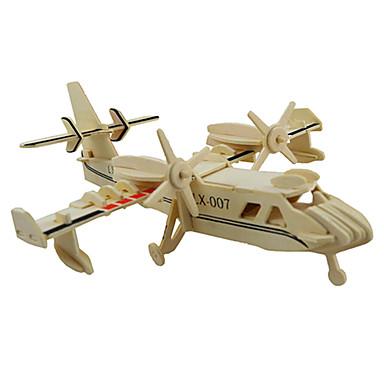 قطع تركيب3D تركيب النماذج الخشبية مجموعات البناء طيارة 3D اصنع بنفسك خشب كلاسيكي للأطفال للجنسين هدية