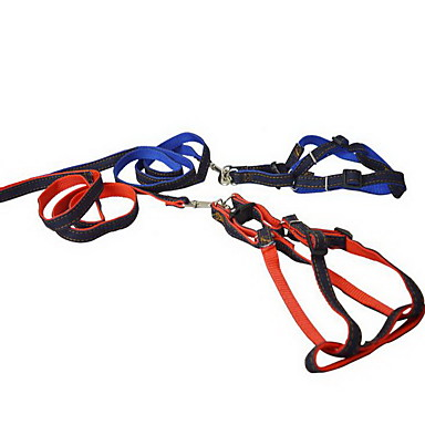 Huisdier benodigdheden hond tractie touw borstband fabrikant nylon denim huisdier tractie riem borstband