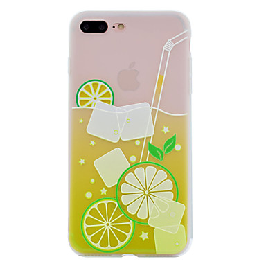 Voor apple iphone 7 plus 7 tpu materiaal zomer c drink telefoon hoesje 6s plus 6 plus 6s 6