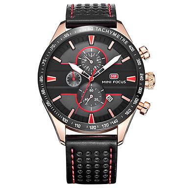 Bărbați Ceas Elegant  Ceas La Modă Quartz Piele Autentică Bandă Charm Casual Negru Maro Gri