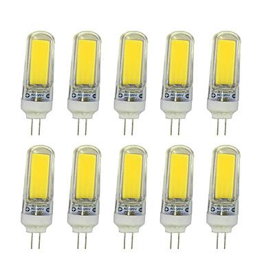 10 Stück 4W 210 lm LED Doppel-Pin Leuchten T Leds COB Warmes Weiß Weiß Wechselstrom 220-240V