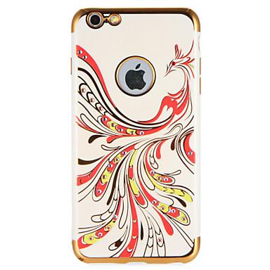 Für Hüllen Cover Strass Muster Rückseitenabdeckung Hülle Tier Weich TPU für AppleiPhone 7 plus iPhone 7 iPhone 6s Plus iPhone 6 Plus
