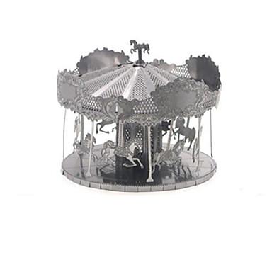 3D-puzzels Metalen puzzels Carrousel Plezier Roestvast staal Klassiek