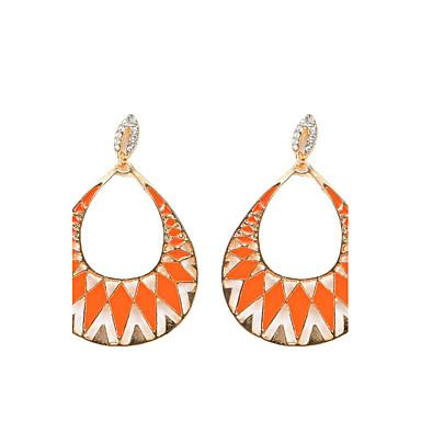 Dames Druppel oorbellen - Hangende stijl / Bohémien Oranje / Fuchsia / Lichtblauw oorbellen Voor Feest / Dagelijks / Causaal