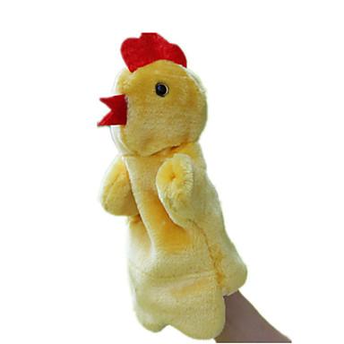 دمى ألعاب دجاج قماش قطيفة طفل صغير قطع