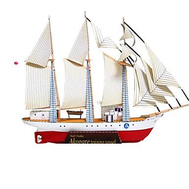 3D - Puzzle Papiermodel Papiermodelle Schiff Simulation Heimwerken Hartkartonpapier Klassisch Kinder Unisex Geschenk