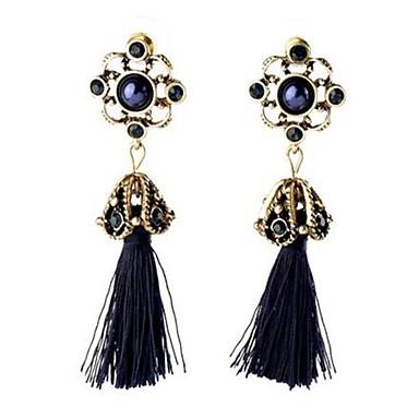 Damen Tropfen-Ohrringe Imitierte Perlen Strass Personalisiert Retro Modisch überdimensional Aleación Schmuck Für Party Bühne Formal