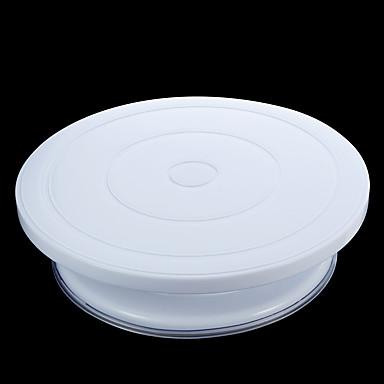 Kuchenformen Kreisförmig Für den täglichen Einsatz Kunststoff Backen-Werkzeug