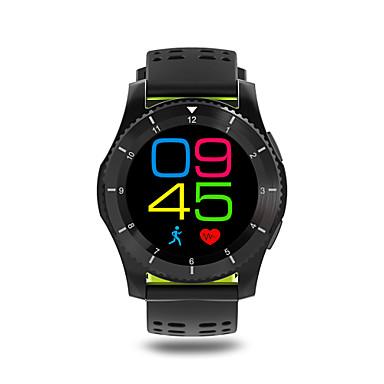 זול שעונים חכמים-שעון חכם כלוריות שנשרפו מד צעדים מעקב אימון מוניטור קצב לב מסך מגע מודד לחץ דם מידע שיחות ללא מגע יד שליטה במצלמה Anti-האבוד Audioמד